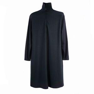 LINDA LUNDSTROM Jersey Mock-Neck Dress